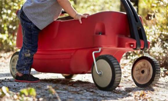 red wagon boy  #17123