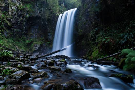 Waterfall River Water Free Photo