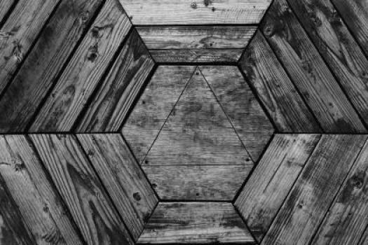 wood texture hexagon  #17153