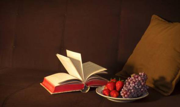 book reading fruits  #17163