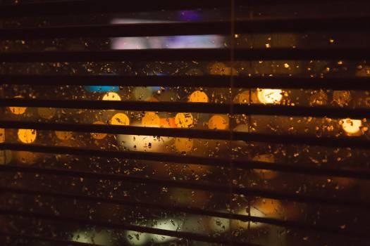 blurry lights rain  #17181