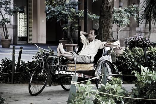 Jinrikisha Cart Wagon #171971