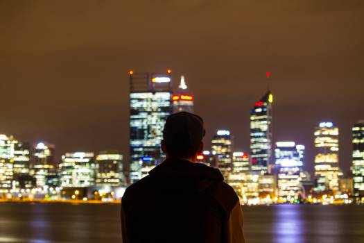 Night City Urban Free Photo