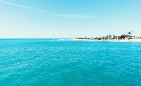 ocean sea blue  #17211