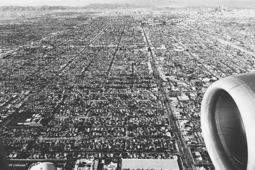 LA Los Angeles aerial  Free Photo