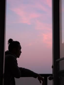 Sunset Silhouette Sky #172516