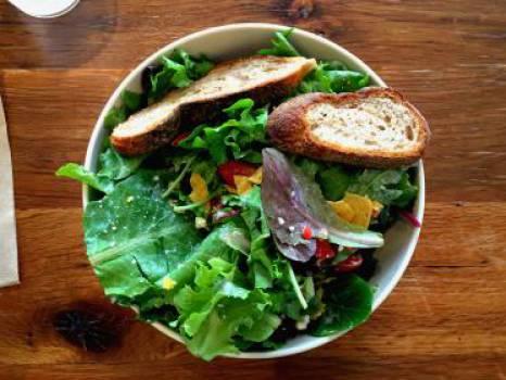 salad lettuce vegetables  #17286