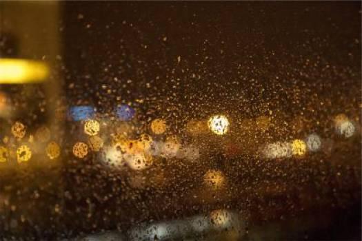 blurry lights raining  #17303
