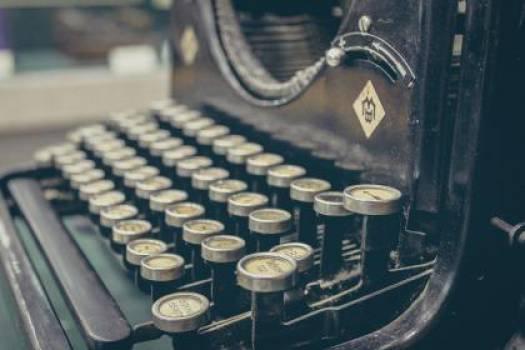 typewriter vintage old  Free Photo