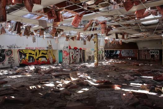 Rubbish Graffito Decoration Free Photo