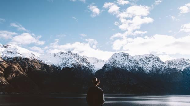 Mountain Range Snow #173513