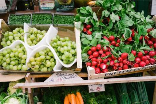fruits vegetables market  #17399