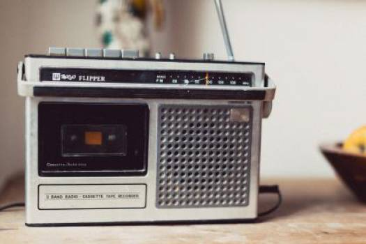 cassette player tape recorder boombox  #17410