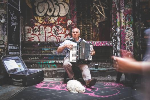 street performer musician music  #17433