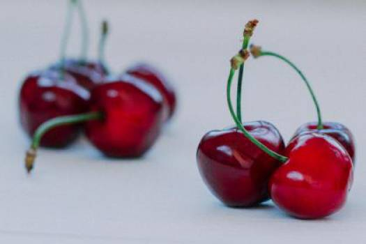 red cherries fruits  #17515