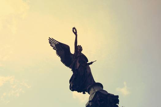 Statue Hunter Sky Free Photo