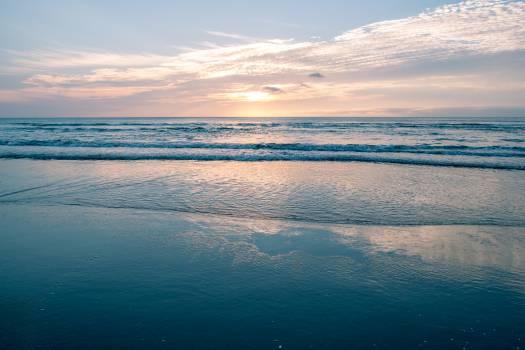 Sandbar Ocean Beach Free Photo