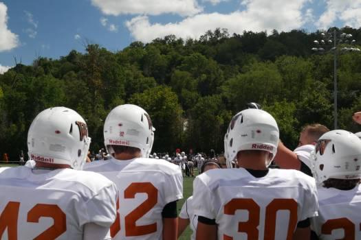 Football helmet Helmet Headdress Free Photo