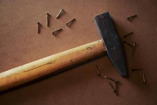 hammer nails tools  Free Photo