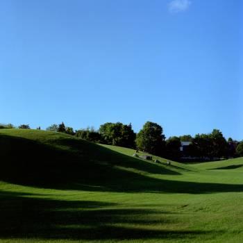 Grass Course Mound Free Photo