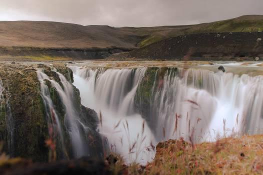 Dam Waterfall Canyon Free Photo