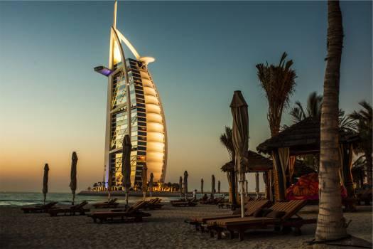Burj Al Arab Dubai hotel  Free Photo