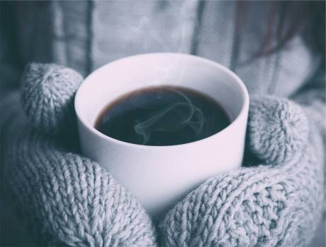 coffee steam hot  #17720