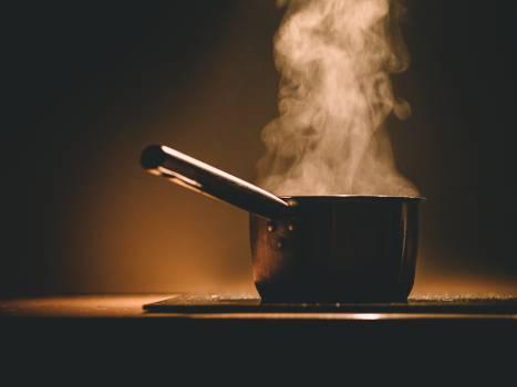 stove pot steam  #17742