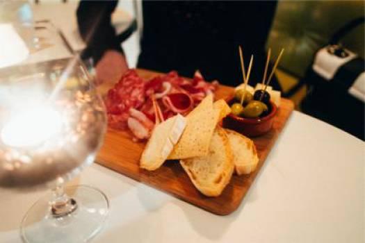 food appetizers cutting board  #17752