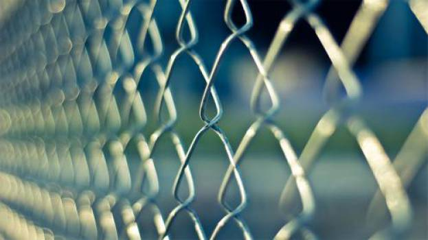 chainlink fence  #17759