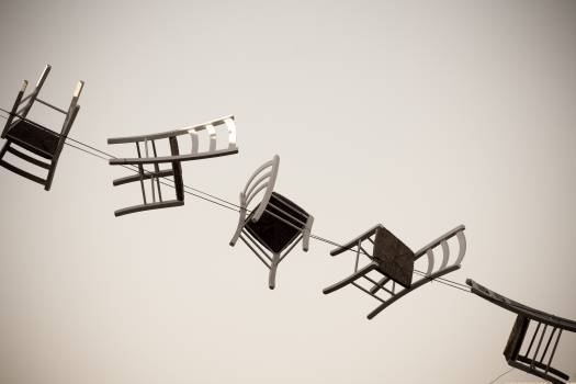 chairs string design  Free Photo