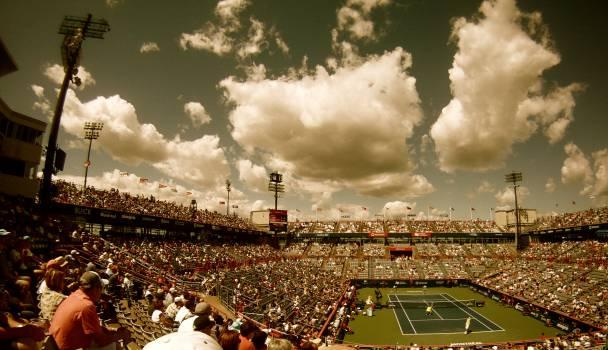 tennis court stadium  #17847