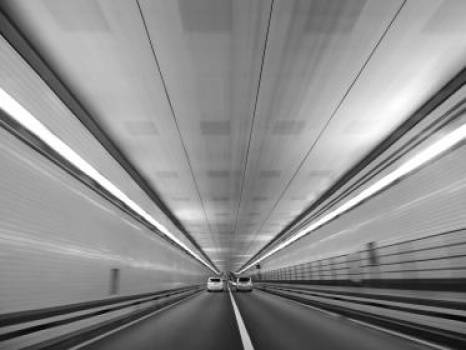 road tunnel cars  Free Photo