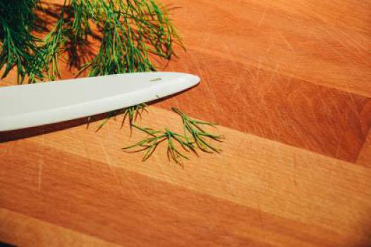 dill herbs knife  Free Photo