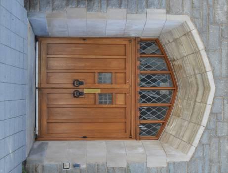 Wood Box Door Free Photo