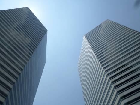 Skyscraper City Modern Free Photo