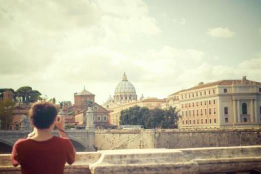 Vatican City Rome Ponte-Sant'Angelo  #17902