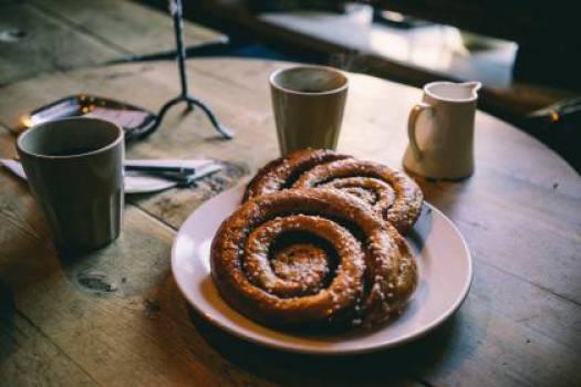 breakfast pastry coffee  #17915
