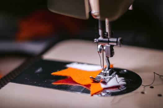 sewing machine fabric cloth  #17962