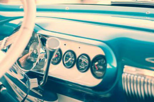 car dashboard interior  Free Photo