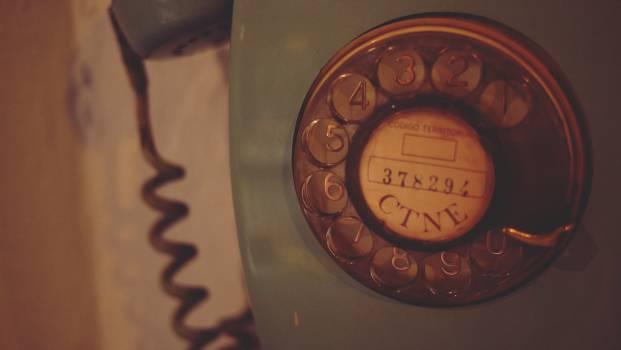 rotary telephone vintage antique  Free Photo