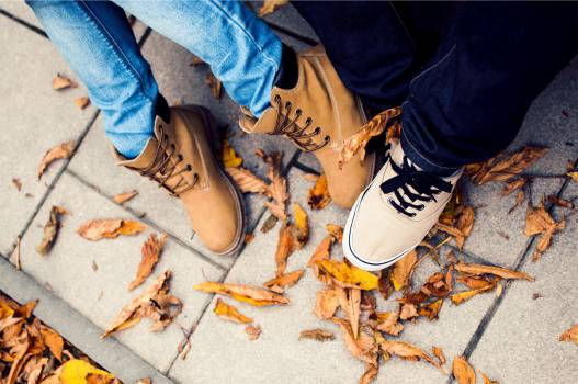 shoes sneakers timberlands  Free Photo