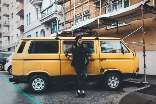 yellow van young  #18085