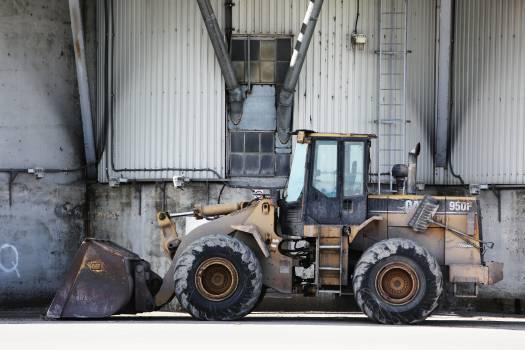 construction truck excavator  Free Photo