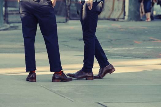 pants shoes sidewalk  #18233