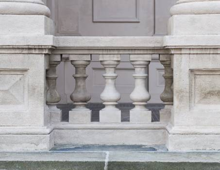 Baluster Support Architecture Free Photo