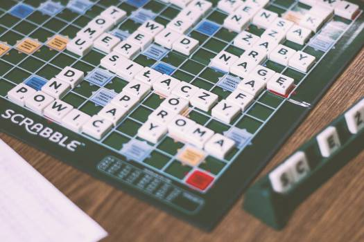 scrabble board game fun  #18258