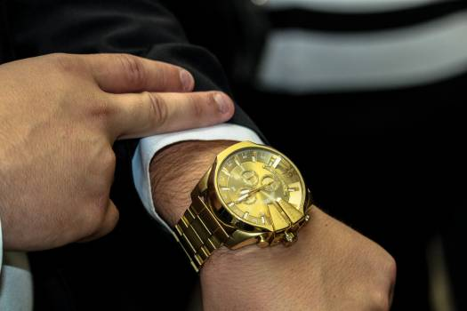 Hand Stopwatch Pointer Free Photo