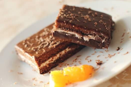 chocolate brownie dessert  #18273