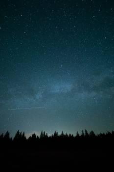 stars sky galaxy  #18278